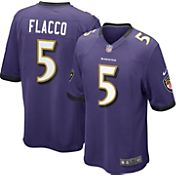 Nike Men's Home Game Jersey Baltimore Ravens Joe Flacco #5