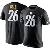 Nike Men's Pittsburgh Steelers Le'Veon Bell #26 Pride Black T-Shirt