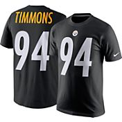 Nike Men's Pittsburgh Steelers Lawrence Timmons #94 Pride Black T-Shirt