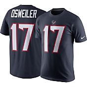 Nike Men's Houston Texans Brock Osweiler #17 Pride Navy T-Shirt