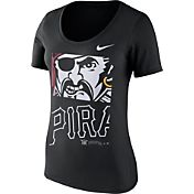 Nike Women's Pittsburgh Pirates Black Scoop Neck T-Shirt