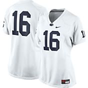 Nike Women's Penn State Nittany Lions White #16 Game Football Jersey