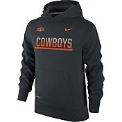 Nike Youth Oklahoma State Cowboys Black Therma-FIT Hoodie