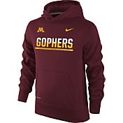 Nike Youth Minnesota Golden Gophers Maroon Therma-FIT Hoodie