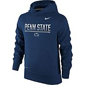 Nike Youth Penn State Nittany Lions Blue Therma-FIT Hoodie