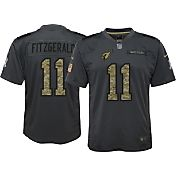 Nike Youth Home Game Jersey Arizona Cardinals Larry Fitzgerald #11 Salute to Service 2016