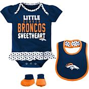 NFL Team Apparel Infant Denver Broncos Bib & Booty Set