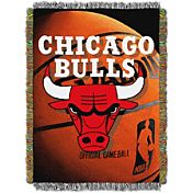 Northwest Chicago Bulls Photo Real Throw Blanket