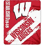 Northwest Wisconsin Badgers Painted Fleece Throw