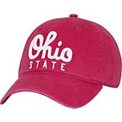 OSU Women's Ohio State Buckeyes Scarlet Script Adjustable Hat