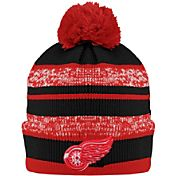 Old Time Hockey Men's Detroit Red Wings Clay Red Cuffed Knit Hat