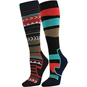 Quest Ski Knee High Socks 2 Pack