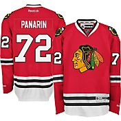 Reebok Men's Chicago Blackhawks Artemi Panarin #72 Premier Replica Home Jersey