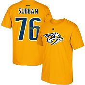 Reebok Men's Nashville Predators P.K. Subban #76 Replica Home Player T-Shirt