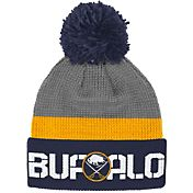Reebok Men's Buffalo Sabres Center Ice Cuffed Pom Knit Hat