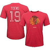 CCM Youth Chicago Blackhawks Jonathan Toews #19 Vintage Replica Home Player T-Shirt
