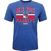 CCM Youth New York Rangers Classic Stripe Royal T-Shirt