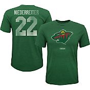 CCM Youth Minnesota Wild Nino Niederreiter #22 Vintage Replica Home Player T-Shirt