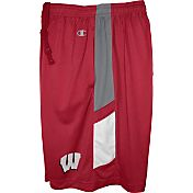 Champion Men's Wisconsin Badgers Red Elite Performance Shorts