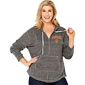 Soft As A Grape Women's San Francisco Giants Grey Hoodie