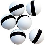Stiga Two-Star Spin Tracker Indoor Table Tennis Balls 6 Pack