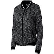 Slazenger Women's Tech Collection Space-Dye Bomber Golf Jacket