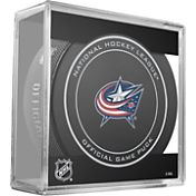 Sher-Wood Columbus Blue Jackets Official Game Puck