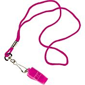 Tandem Volleyball Pea-Less Whistle and Lanyard