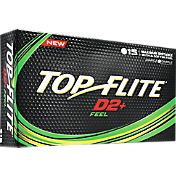 Top Flite D2+ Feel Golf Balls – 15-Pack