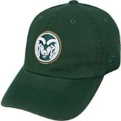 Top of the World Men's Colorado State Rams Green Crew Adjustable Hat