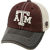 Top of the World Men's Texas A&M Aggies Maroon/White/Grey Off Road Adjustable Hat