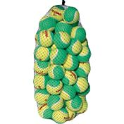 Tourna Youth Stage 1 Low Compression Tennis Balls - 60 Pack