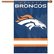 Party Animal Denver Broncos Applique Banner Flag