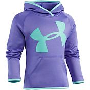 Under Armour Little Girls' Jumbo Checkpoint Big Logo Hoodie