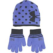 Under Armour Little Girls' Knit Beanie and Gloves—Combo Pack