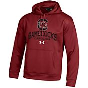 Under Armour Men's South Carolina Gamecocks Armour Fleece Garnet Hoodie