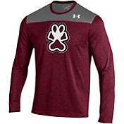 Under Armour Men's Southern Illinois Salukis Maroon/Grey Foundation Long Sleeve UA Tech Tee