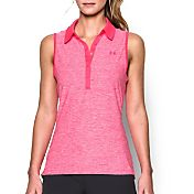 Under Armour Women's Zinger Blocked Sleeveless Golf Polo