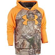 Under Armour Toddler Boys' Realtree Big Logo Hoodie