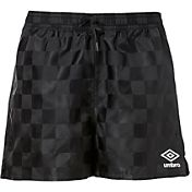 Umbro Girls' Check Soccer Shorts
