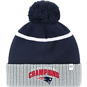 '47 Men's Super Bowl LI Champions New England Patriots Multi-Champions Navy Knit