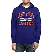 '47 Men's New York Rangers Headline Pullover Royal Hoodie