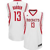 adidas Men's Houston Rockets James Harden #13 Home White Replica Jersey
