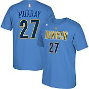 adidas Youth Denver Nuggets Jamal Murray #27 Light Blue T-Shirt