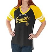 G-III For Her Women's Columbus Crew Fastball Black T-Shirt