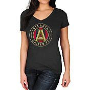 Majestic Women's Atlanta United Logo Black T-Shirt