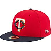 New Era Men's Minnesota Twins 59Fifty Alternate Red Authentic Hat