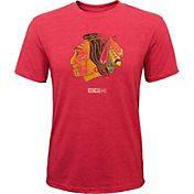 CCM Youth Chicago Blackhawks Retro Logo Red T-Shirt